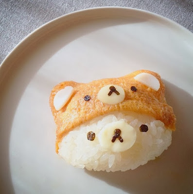 Bear sushi - kawaii