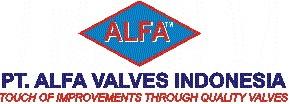 Logo PT Alfa Valves Indonesia