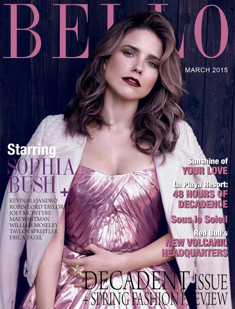 Actress @ Sophia Bush - BELLO Magazine March 2015