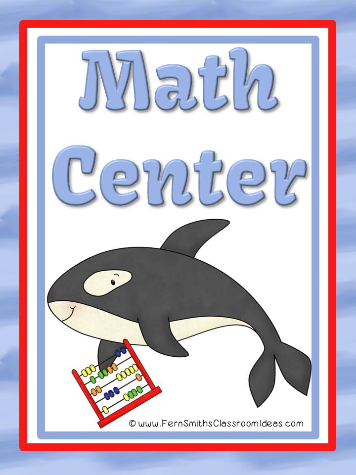 Fern Smith's Addition and Subtraction Ocean Themed Concentration, Go Fish & Old Maid
