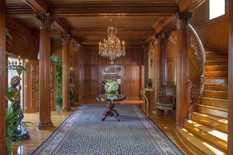 Victorian Mansion Foyer : Old world gothic and victorian interior design