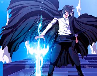 Zangetsu Juha Bach Bleach Anime Sword HD Wallpaper Desktop PC Background