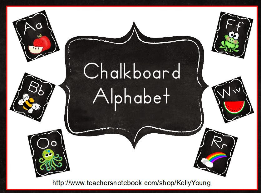 http://www.teacherspayteachers.com/Product/Chalkboard-Alphabet-1273001