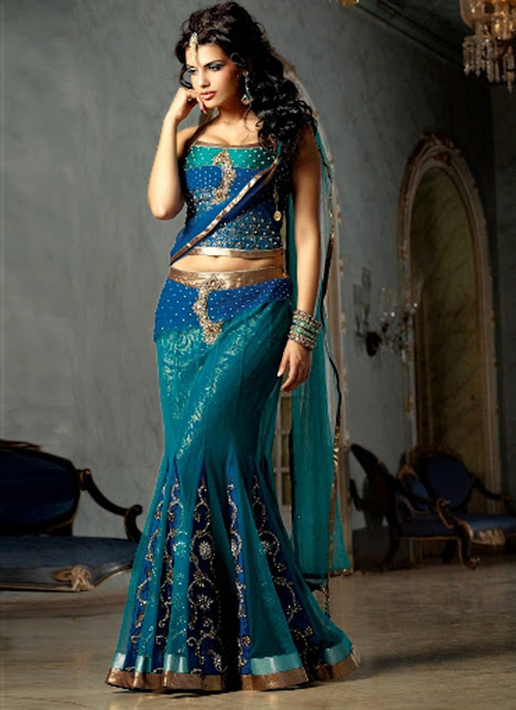 Popular cuts and styles - Bridal lehenga Choli