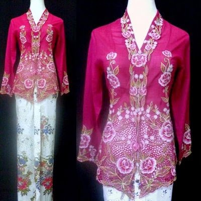 Foto Model Baju Kebaya Nyonya