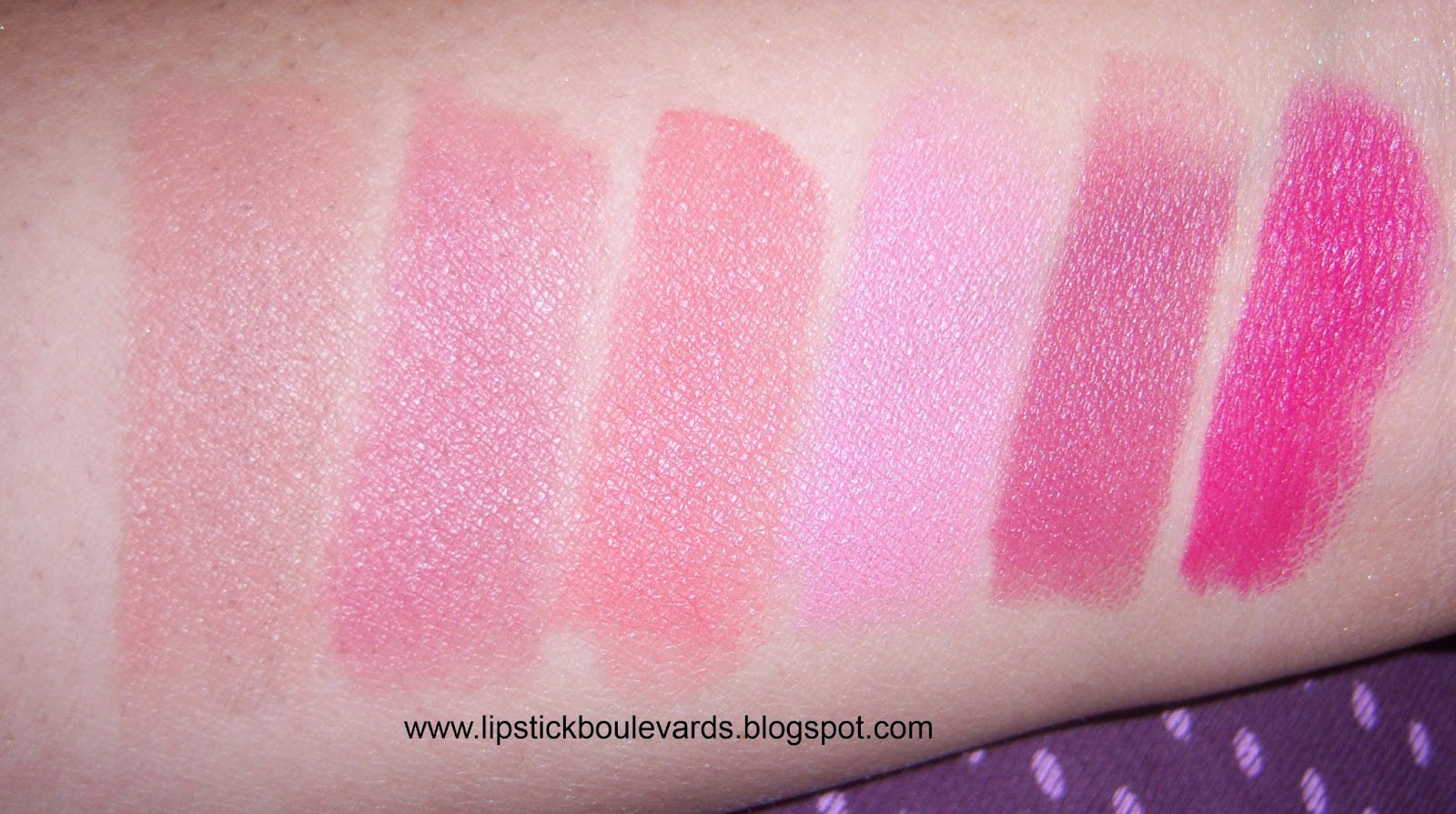 Lipstick Boulevards Flower Beauty Cosmetics by Drew Barrymore Swatches