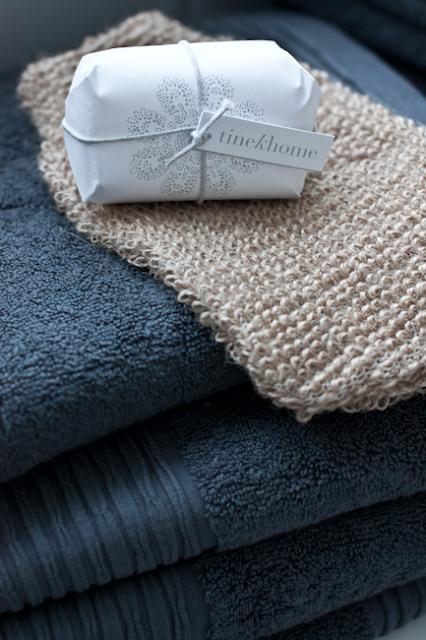Tine K Home, håndkler og såpe
