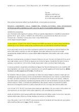 Richiesta al Ministero dell'Interno