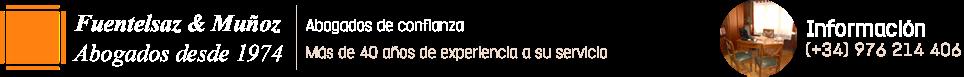 Abogado de Familia en Zaragoza - 976 214 406 - Abogados Fuentelsaz&Muñoz