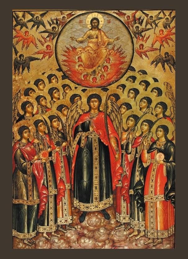 Azi 8 noiembrie praznuirea Sfintilor Arhangheli Mihail si Gavriil si a tuturor puterilor ceresti !