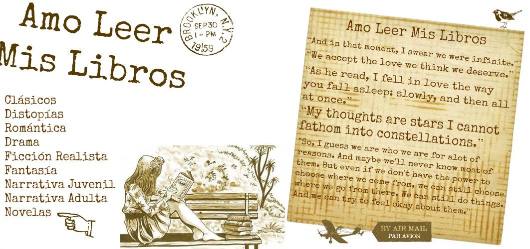 Amo Leer - Mis Libros