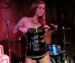 World's 1st EVER Titty Boob Drum Solo!