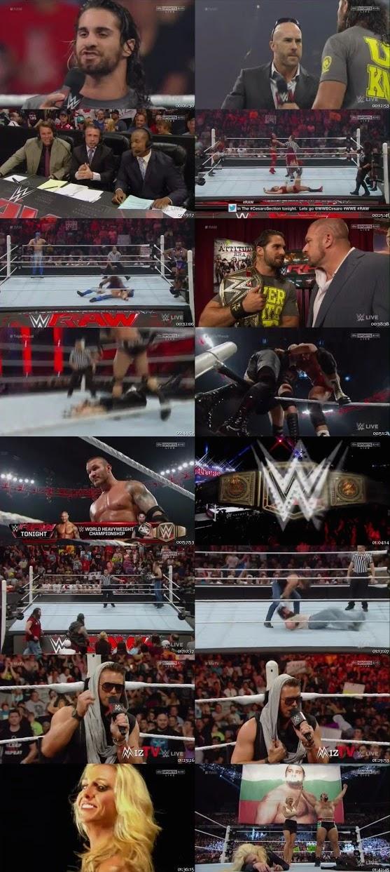 WWE Monday Night RAW 10 Aug 2015 HDTV 480p