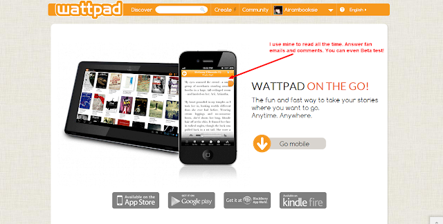 how to download wattpad stories on mobile