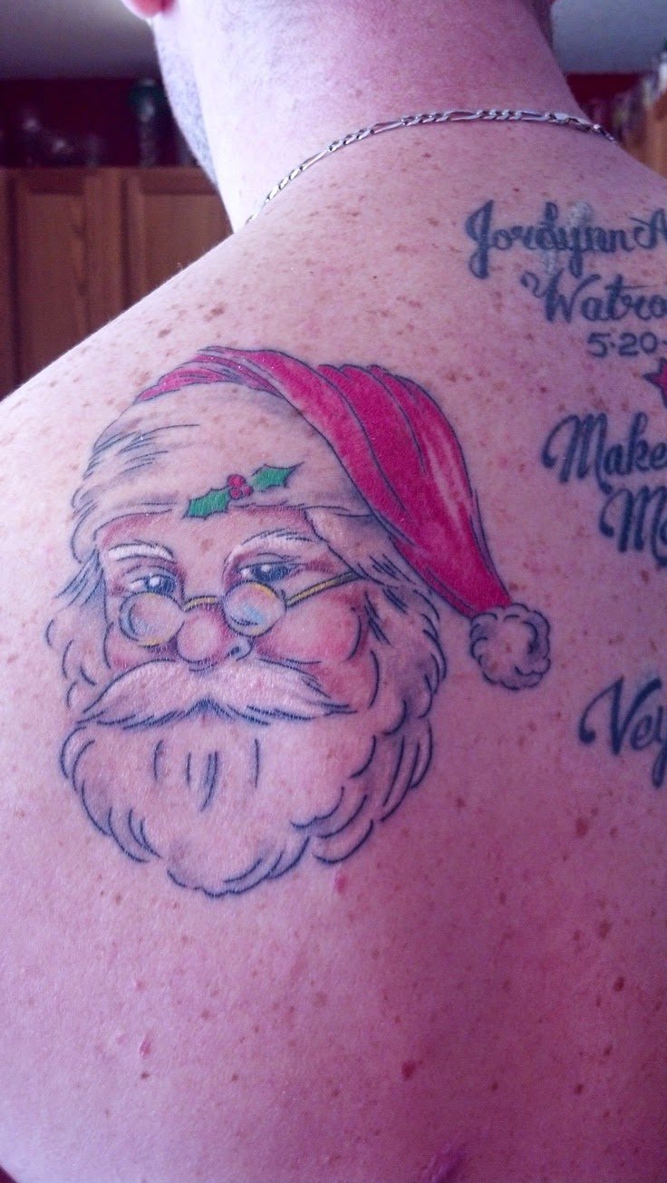♥ ♫ ♥ Santa Claus Tattoo ♥ ♫ ♥