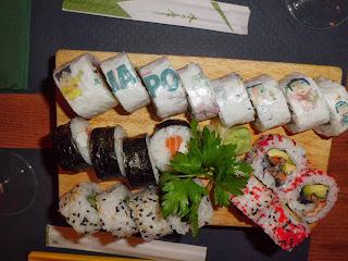 I love Japo platos