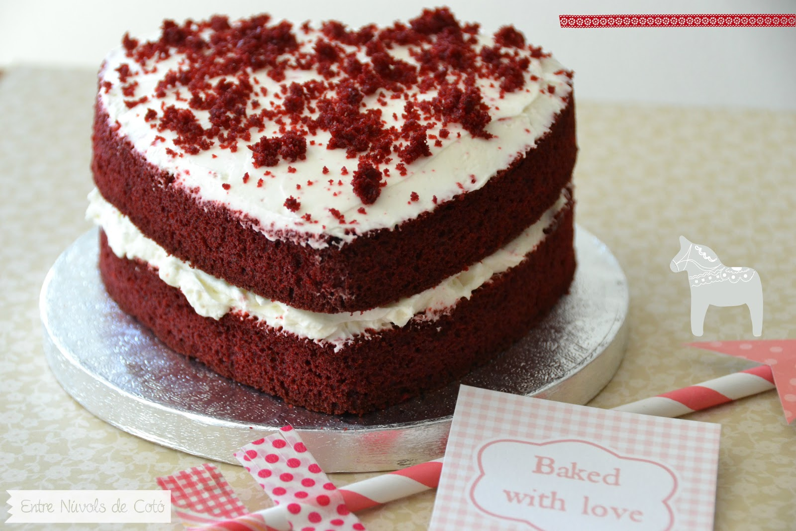 Torta nuziale red velvet migliore collezione inspiration - Tarta red velvet alma obregon ...