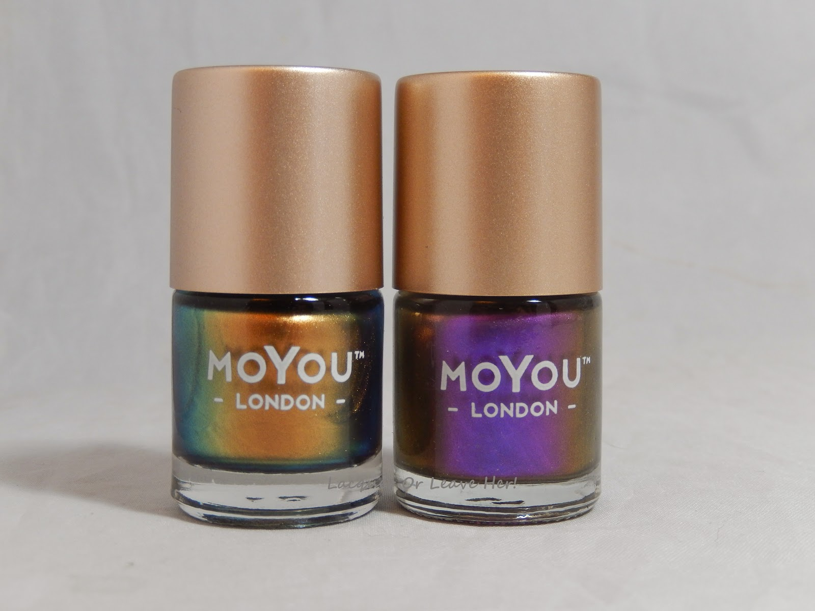 MoYou London Ginger rust and Purple Haze