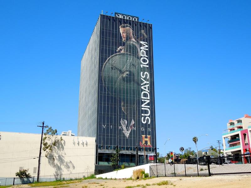 Giant Vikings season 1 billboard Sunset Strip