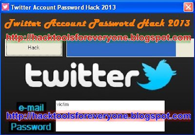 Twitter Account Password Hack 2013