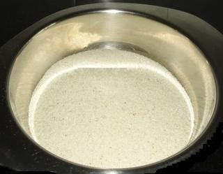 roaste the rava to make uttapa