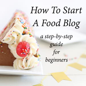 start food blog today