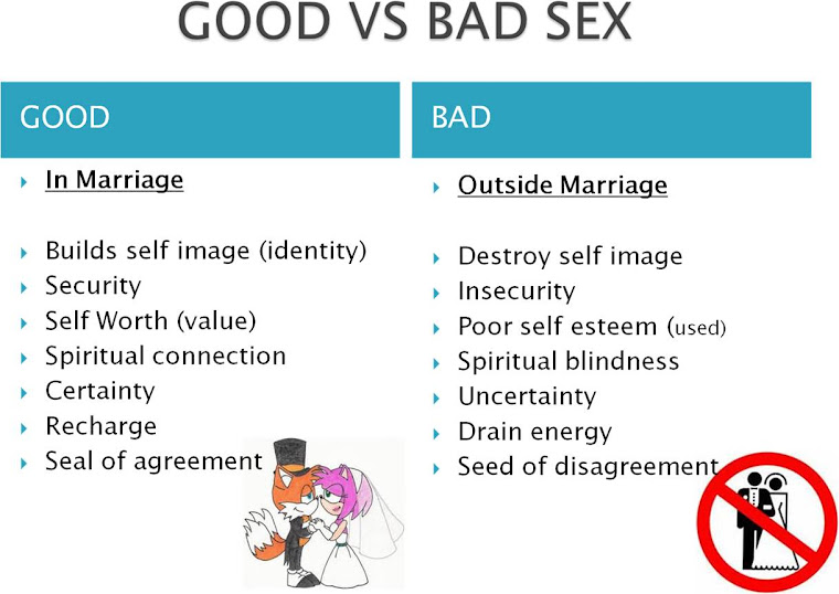 Sex is bad or good