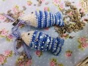 Háčkované rybičky
