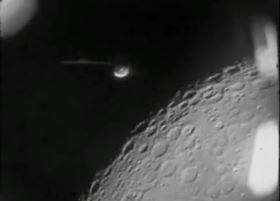Alien Base On The Moon In Detail, Clear UFO Photos Released By NASA Taken By Astronauts,  Ufo+over+moon+3