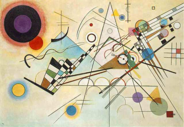 Wassily Kandinsky Composition 8