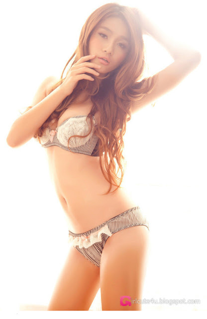 4 Xi Wang Ran - underwear piece-Very cute asian girl - girlcute4u.blogspot.com