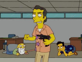 Steve Buscemi en The Simpsons