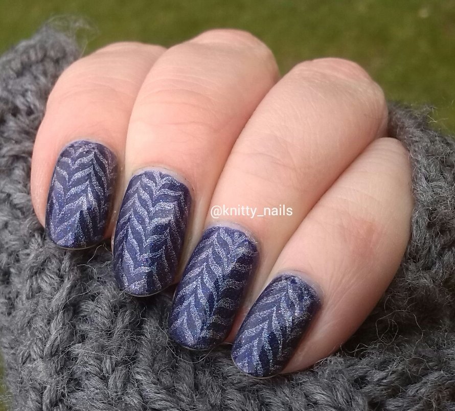 SV by Sparkly Vernis Blurple Ice Cubes and Hehe 040