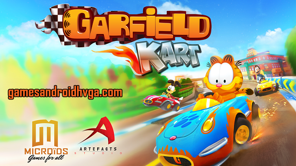 Garfield Kart Apk v1.1 + Data Mod [Unlimited Gold]