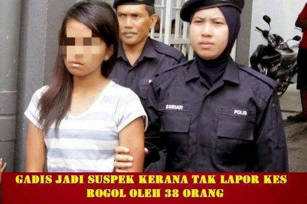 Laporan Polis Punca Sebenar Kes Remaja Diperkosa 38 Lelaki Tersebar