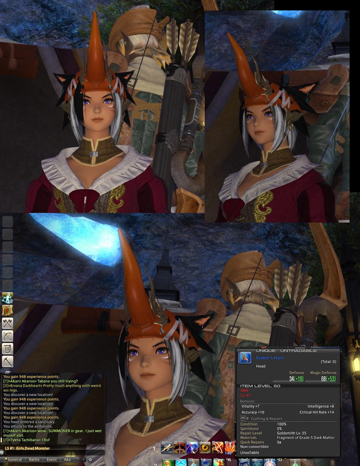 Random FFXIV Screencap Images ^__^ Girls Dead Monster FFXIV Free ...