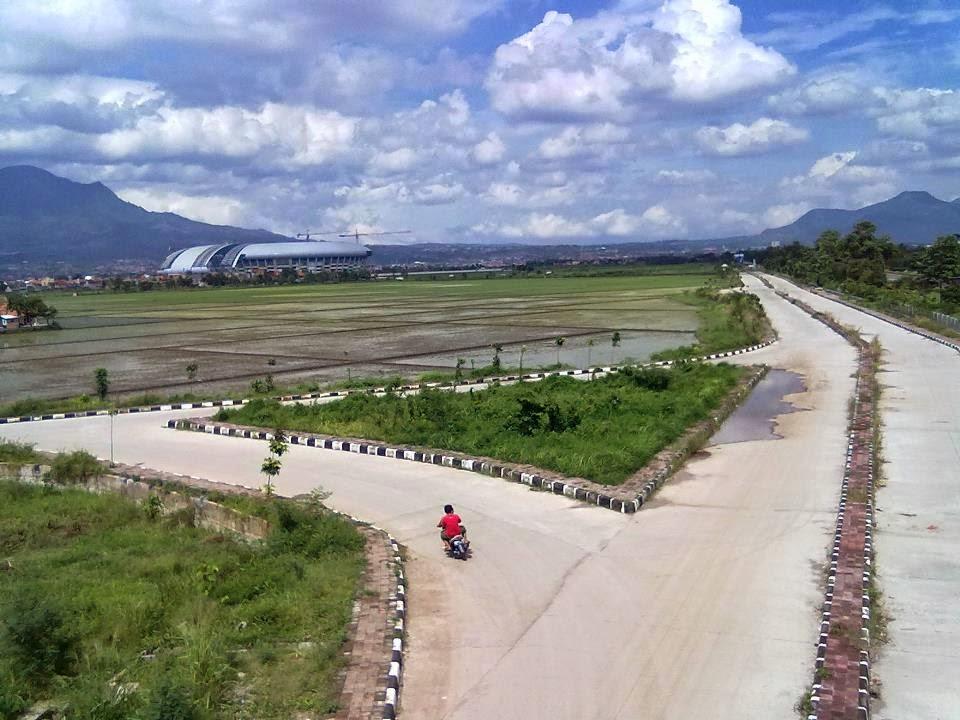 Pintu Tol Gedebage Bandung Dibangun 2015