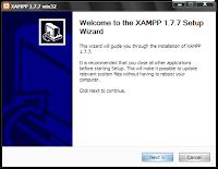 cara instal xampp diwindows