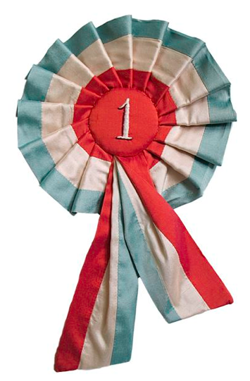 1st Ribbon from Tara Badcock Rosettes