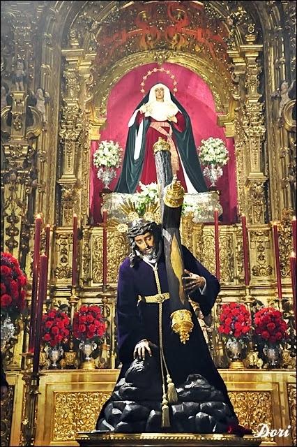 Besamanos al  Santísimo Cristo de las Tres Caídas de Triana
