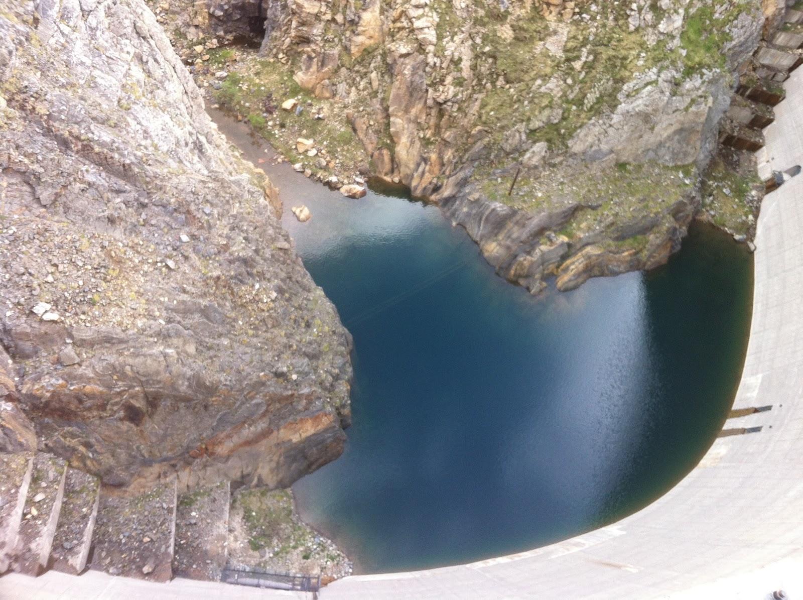 Presa d'una central hidroelèctrica