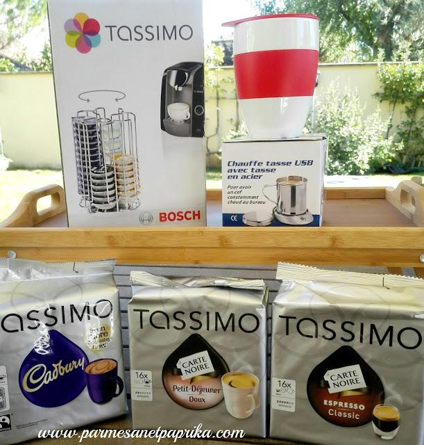 tassimo fait sa rentr e concours parmesan et paprika. Black Bedroom Furniture Sets. Home Design Ideas