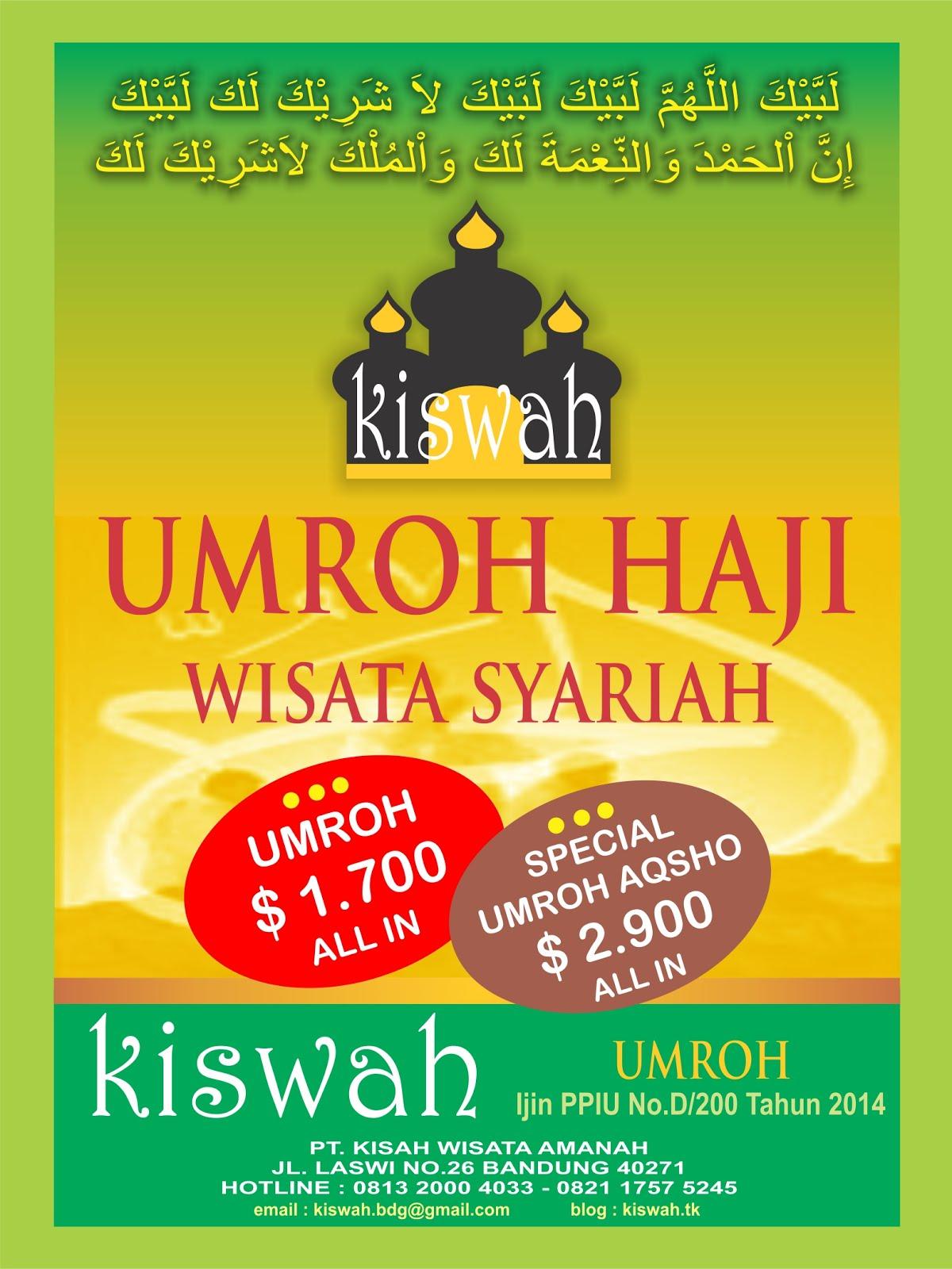 BROSUR KISWAH
