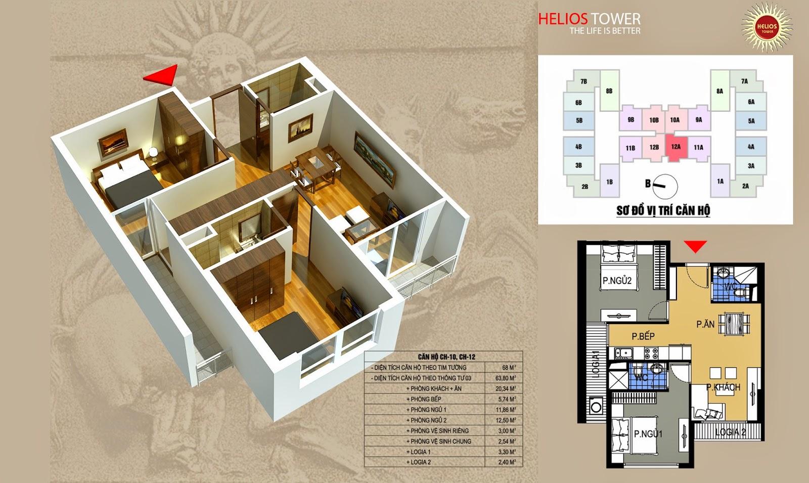 Chung Cư Helios 75 Tam Trinh