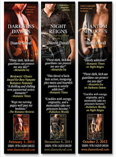 Immortal Guardians Bookmarks