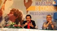 Kedatangan Maradona ke Indonesia Diundur