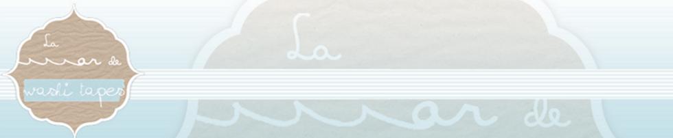 La mar de washi tapes