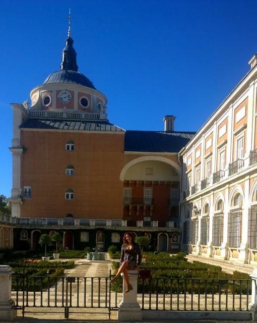 fachada palacio aranjuez