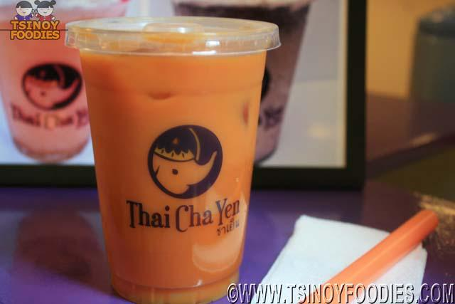 thai cha yen thai milk tea