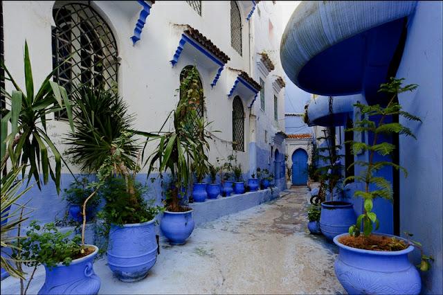 شفشاون المدينة الزرقاء بالمغرب